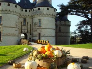Château de Chaumont en automne